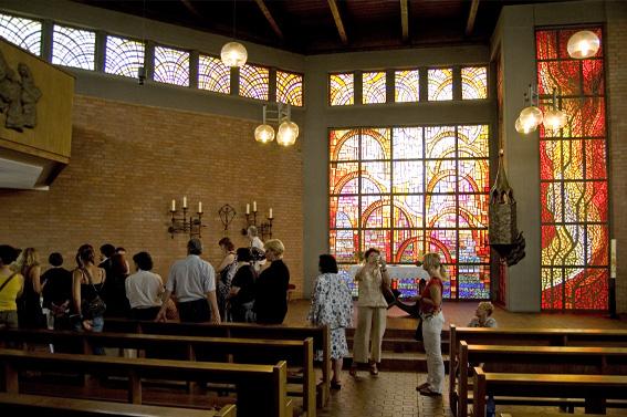 Ausflug in die Kirche St. Mechthild in Magdeburg