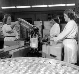 Chemiearbeiterinnen in Wolfen