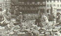 Trümmerfrauen in Halberstadt