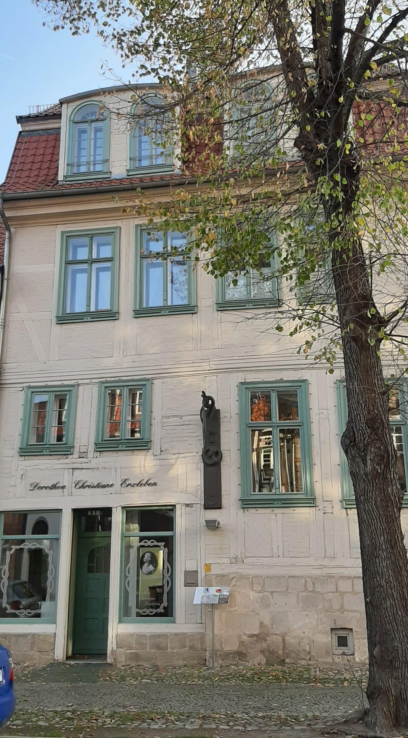 FrauenOrt Quedlinburg Geburts-und Sterbehaus Dr.Dorothea Erxleben