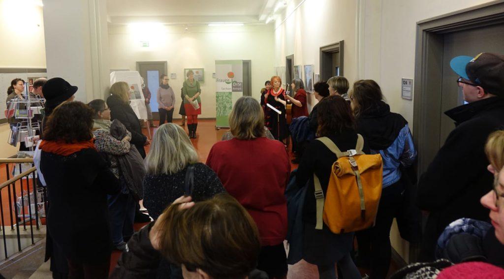 Ausstellungeröffnung 20 Jahre FrauenOrte im Ratshof Halle