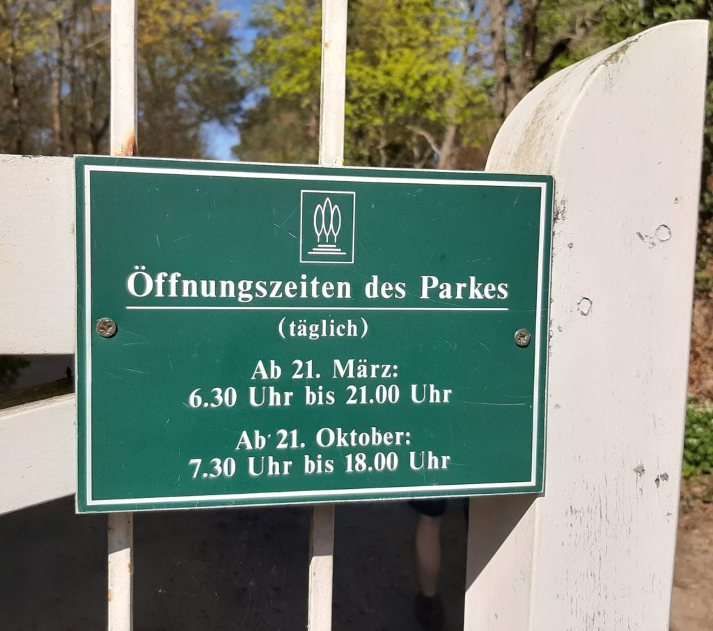 FrauenOrt Schloss Oranienbaum_Park 05 Öffnungszeiten