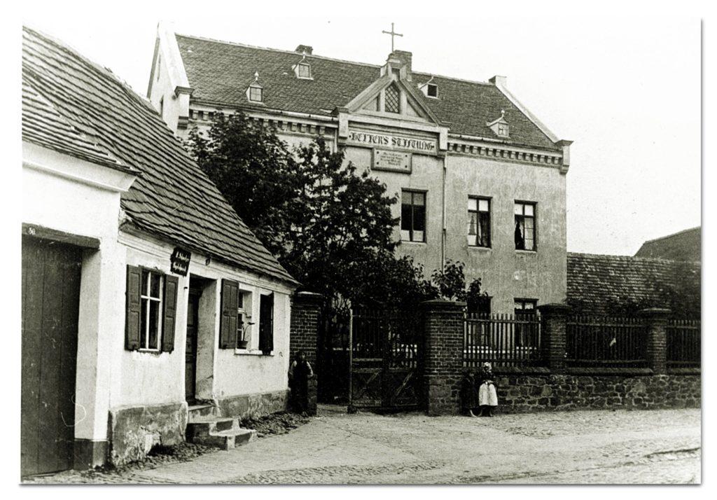 Zörbig Hellerstift um 1900_01 KULTURQUADRAT Schloss Zörbig (KQZ), Museum