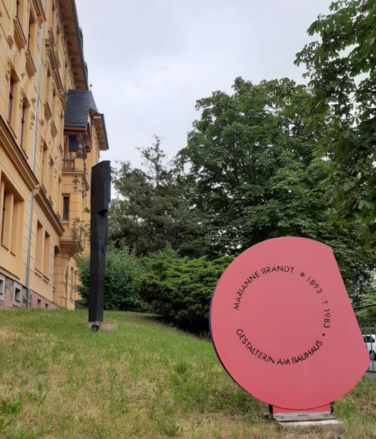 FrauenOrt in Sachsen für Marianne Brandt im Chemnitzer Elternhaus