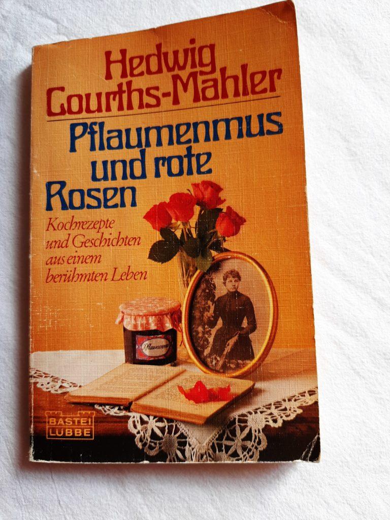 HCM Buch Pflaumenmus und rote Rosen
