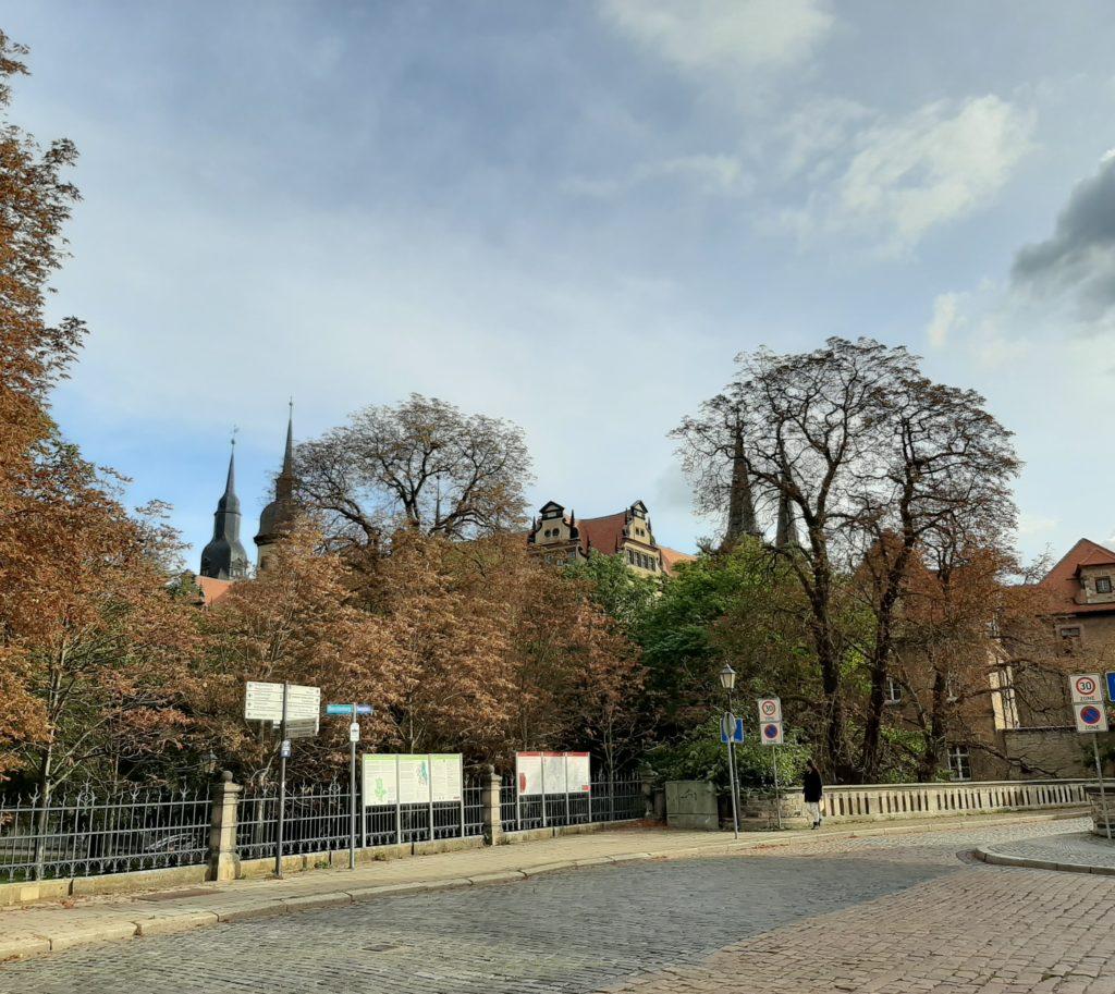 FrauenOrt Ständehaus Merseburg_Blick zum Schloss