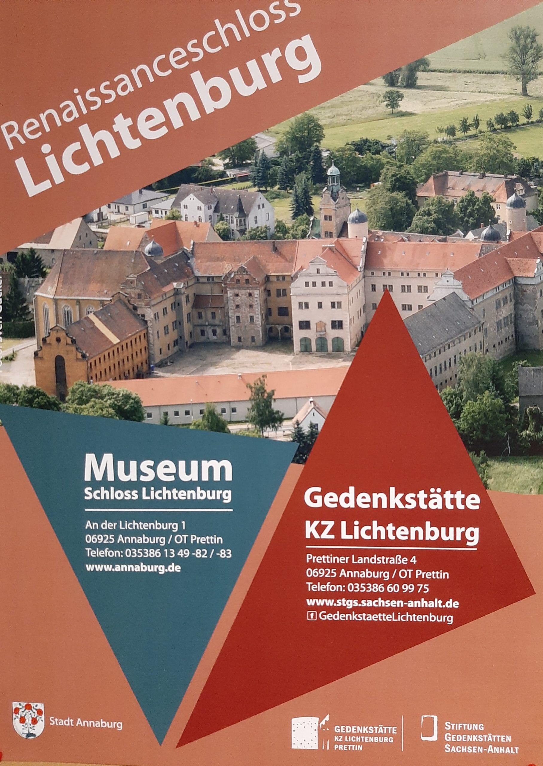 Plakat FrauenOrt Lichtenburg Prettin